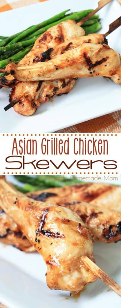 grilled chicken on skewers recipe
