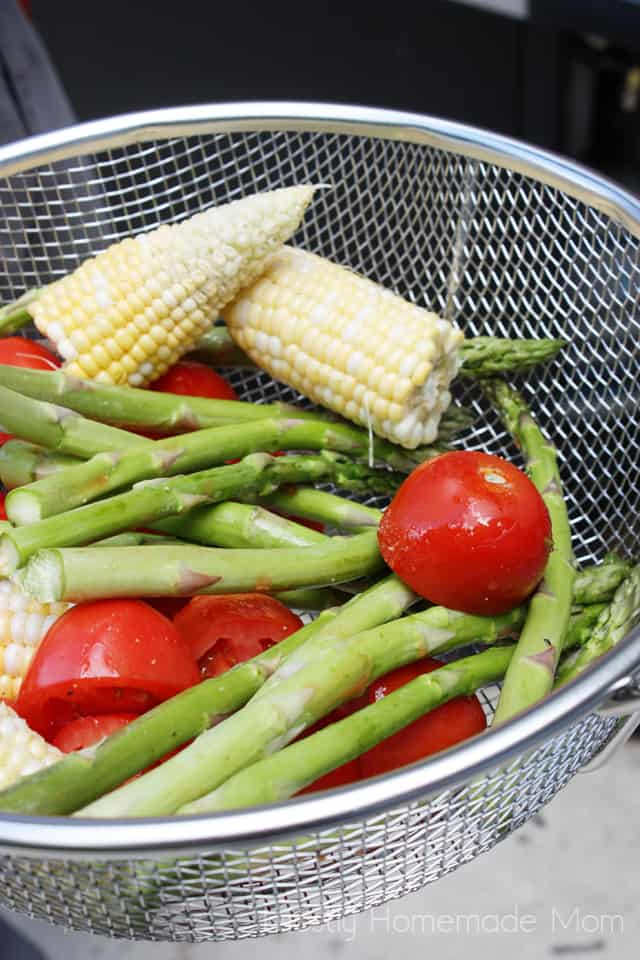 grilled vegetable salad recipe