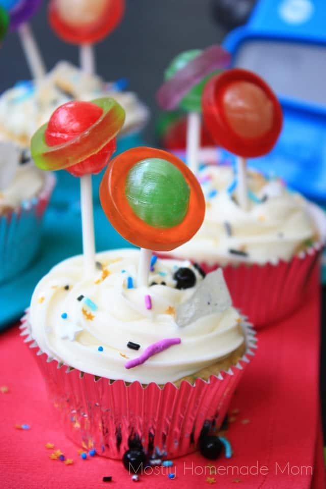 galaxy cupcakes recipes