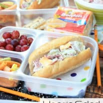 Hoagie Salad Sandwiches: Back to School with Borden® Cheese