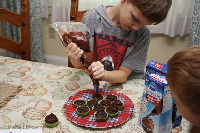 brownie bites from mix