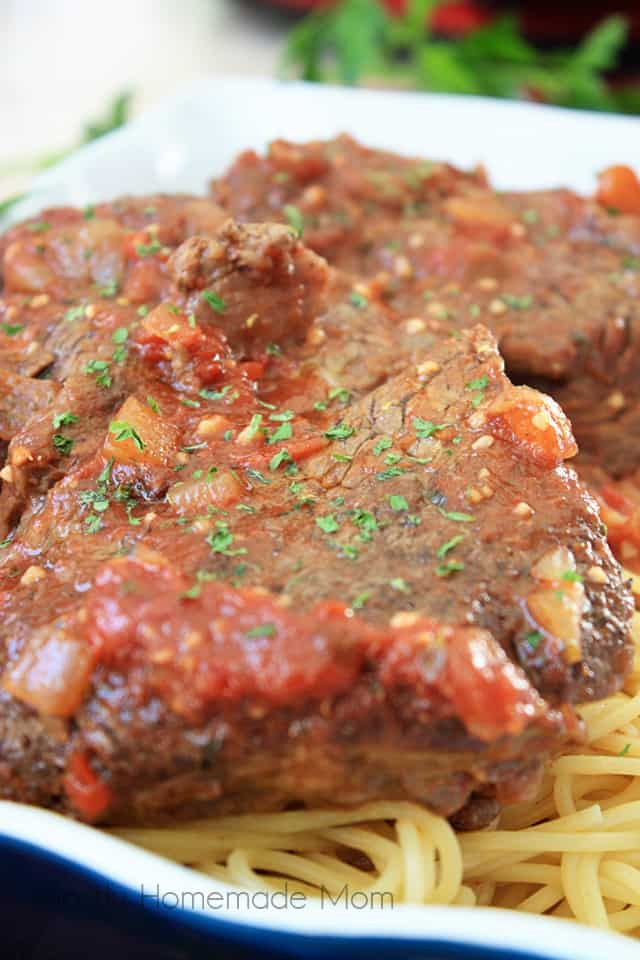 Italian pot roast slow cooker