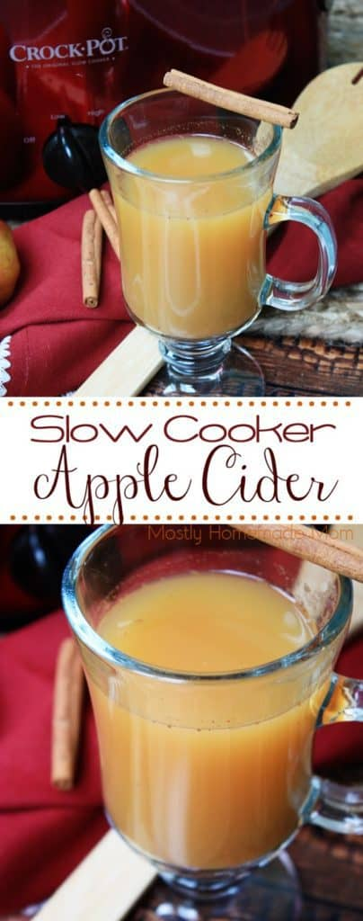 crockpot apple cider recipe