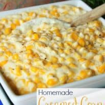 Creamed Corn Recipe in the Crockpot – VIDEO