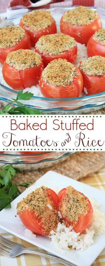 recipe for stuffed tomatoes