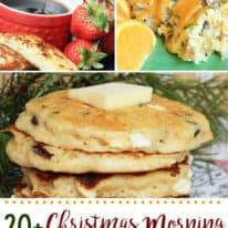 20+ Christmas Morning Breakfast Ideas