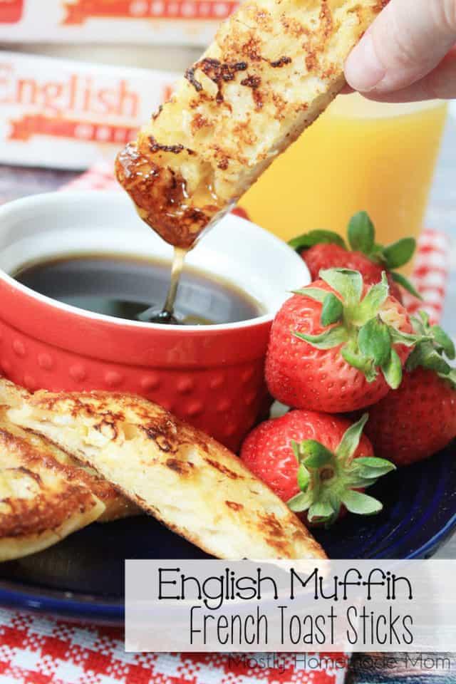 English Muffin French Toast Sticks