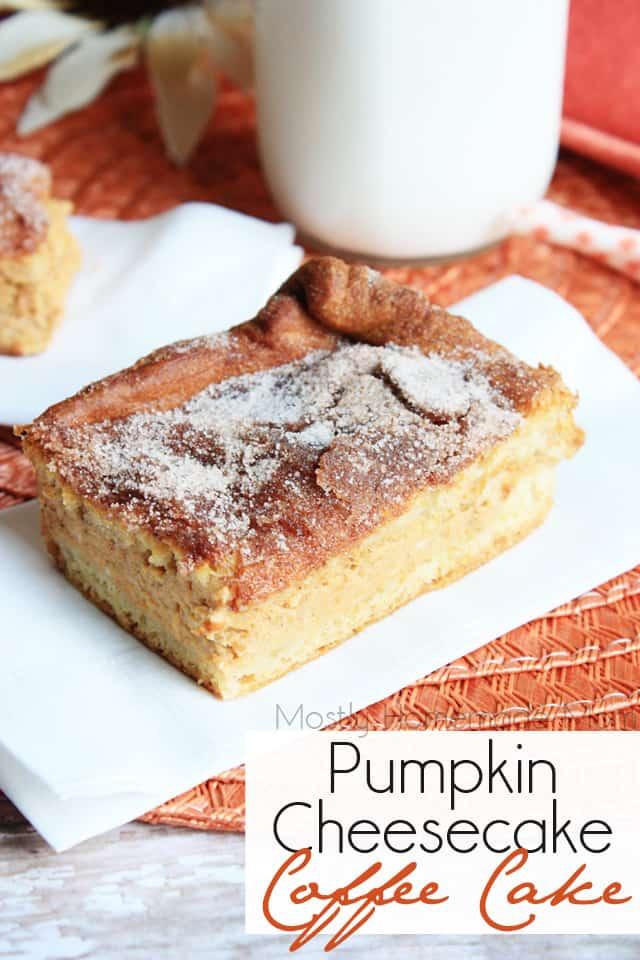 Pumpkin Cheesecake Coffee Cake