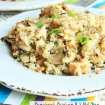 Chicken and Wild Rice Casserole (VIDEO)