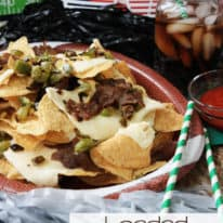 Loaded Philly Cheese Steak Nachos