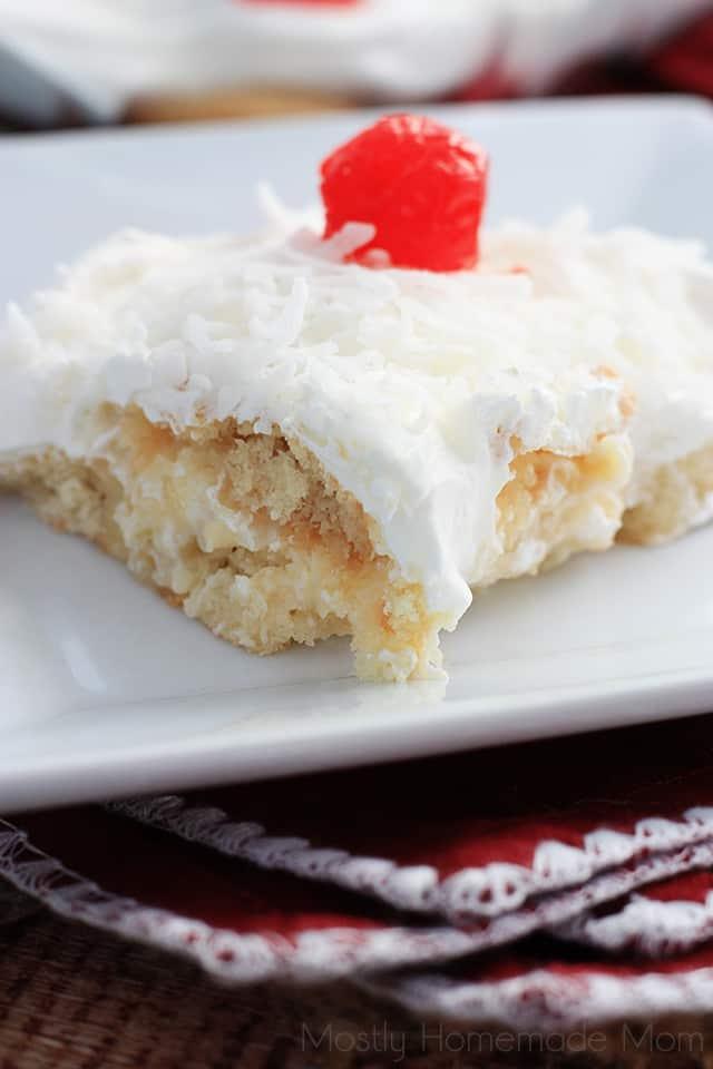 no bake italian cream cake