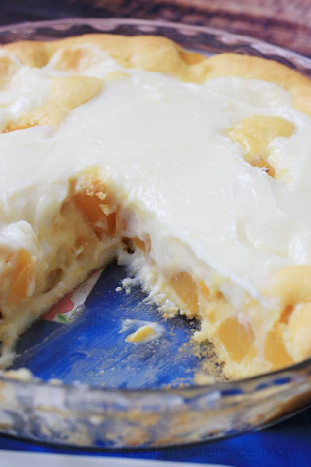 peaches and cream pie recipe vanilla pudding