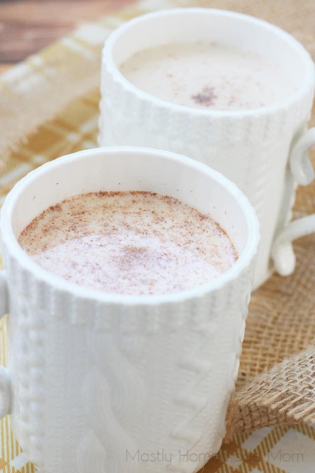 warm milk recipe