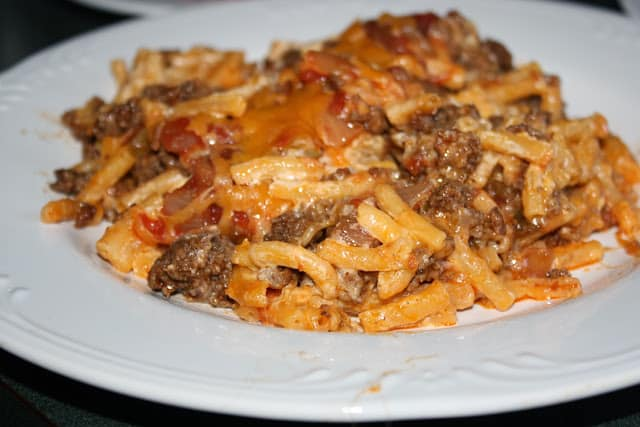 Taco Mac Casserole Dinner