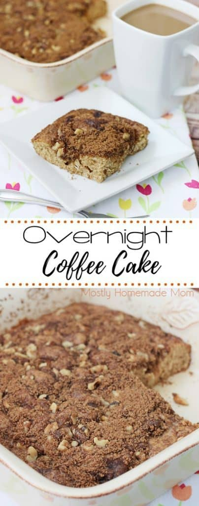 overnight coffee cake sour cream