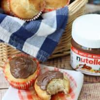 Buttermilk Muffins with Nutella® Hazelnut Spread