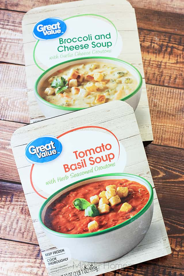 Tomato Basil Soup and Caprese Panini