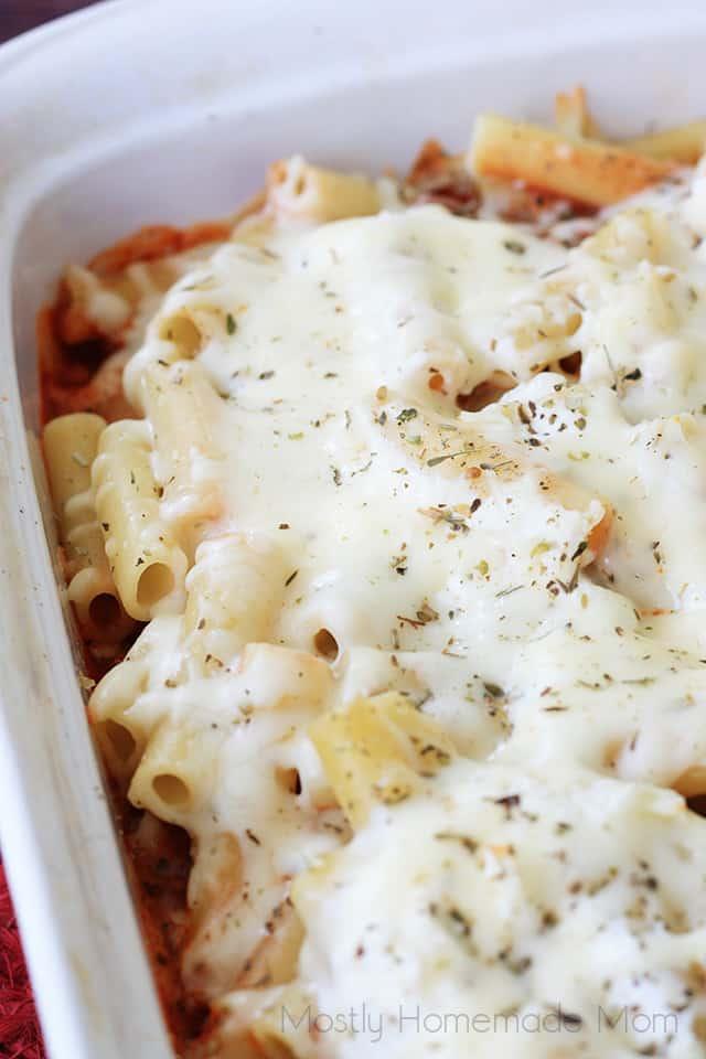 baked ziti lasagna