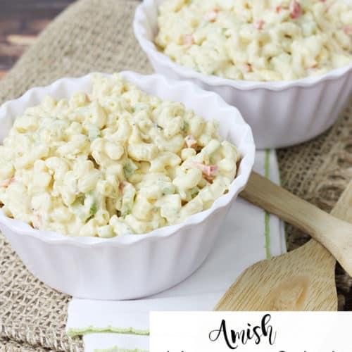 Macaroni Salad Recipe Amish