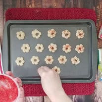 Almond Cream Cheese Spritz Cookies